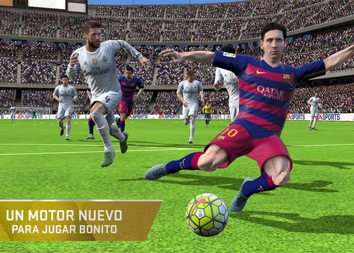 El mejor fútbol en la palma de tu mano con FIFA 16
