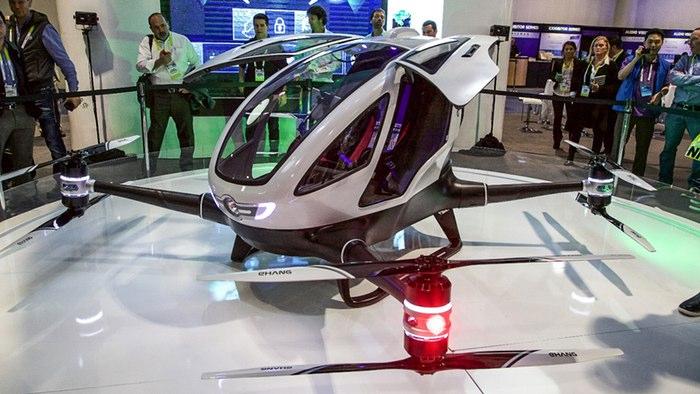 ¡Por fin! Un drone que te puede llevar
