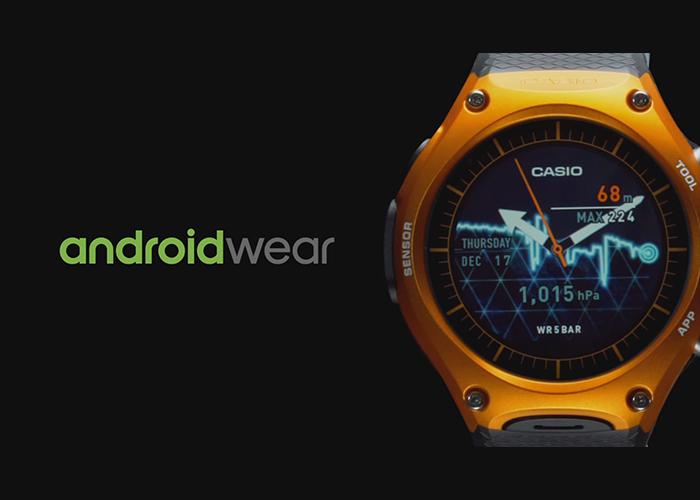 Primer reloj Casio con Android Wear