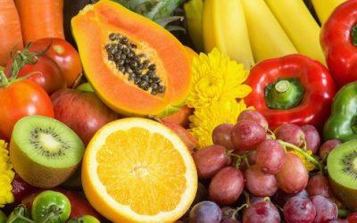 Comer frutas y verduras aumenta los niveles de felicidad