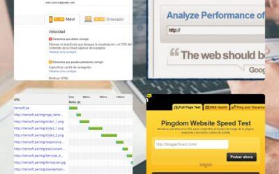 Herramientas gratuitas para analizar el peso de un sitio web
